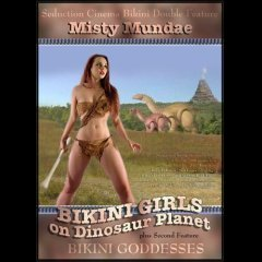 Bikini Girls on Dinosaur Planet DVD