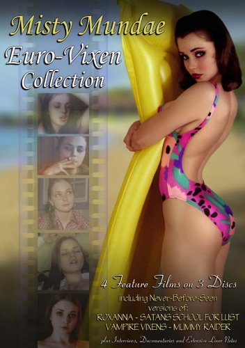 Misty Mundae Euro Vixen Collection Boxed Set DVD