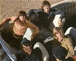The Monkees in therir Monkeemobile